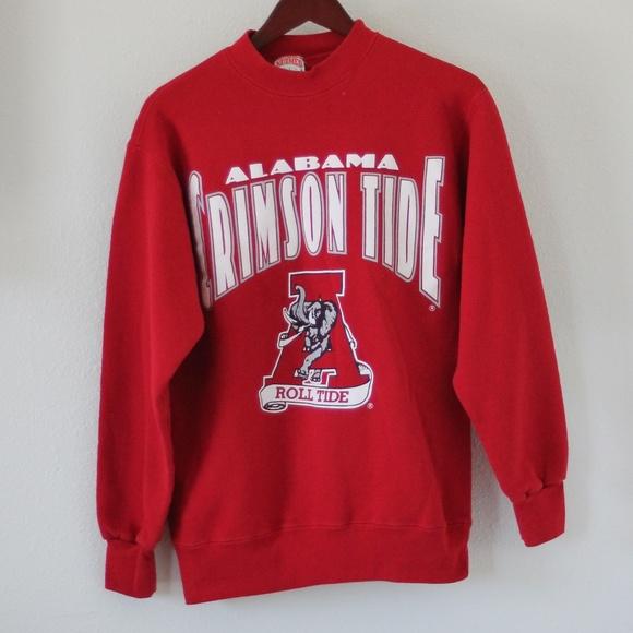 Size M. Vintage Alabama Crimson Tide Sweatshirt